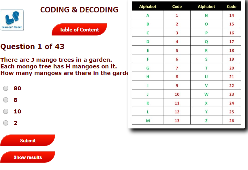 coding and decoding worksheets